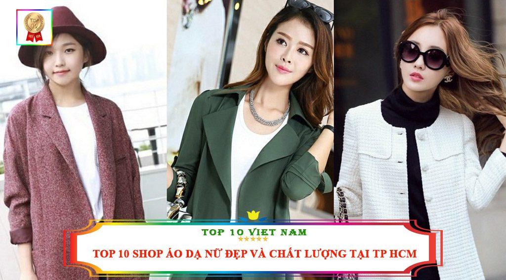 TOP 10 SHOP ÁO DẠ NỮ ĐẸP VÀ CHẤT LƯỢNG TẠI TP HCM