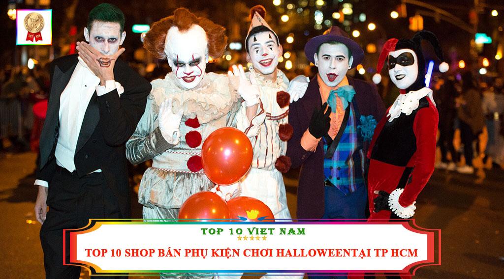 TOP 10 SHOP BÁN PHỤ KIỆN CHƠI HALLOWEEN TẠI TP HCM