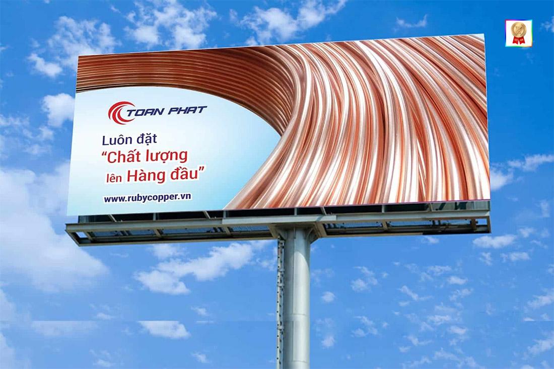 Mẫu biển quảng cáo bắt mắt