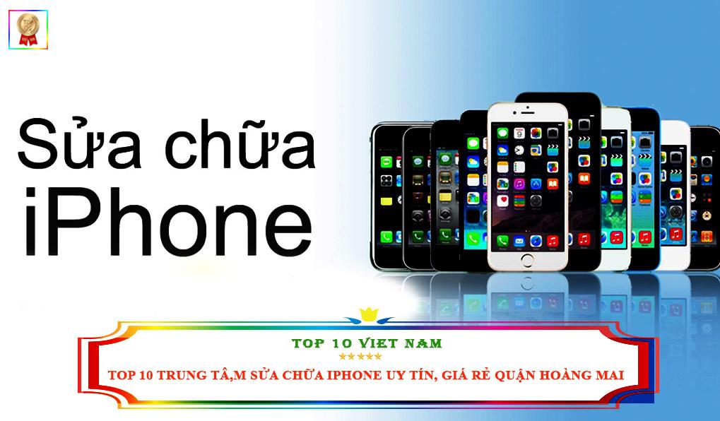 Trung tâm sửa chữa Iphone Quận Hoàng Mai