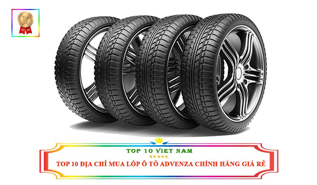 Top 10 địa điểm mua lốp ô tô Advenza chính hãng
