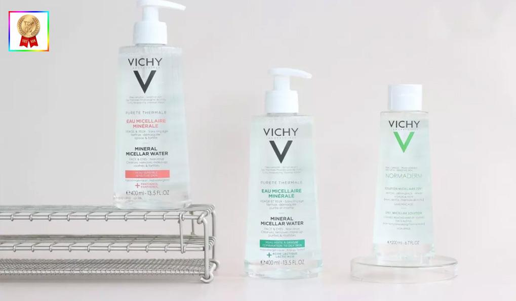 Vichy - thương hiệu nước tẩy trang tốt nhất