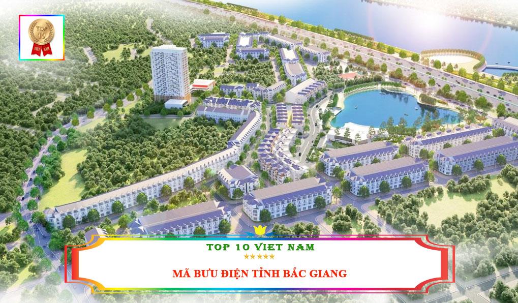 mã bưu điện Bắc Giang