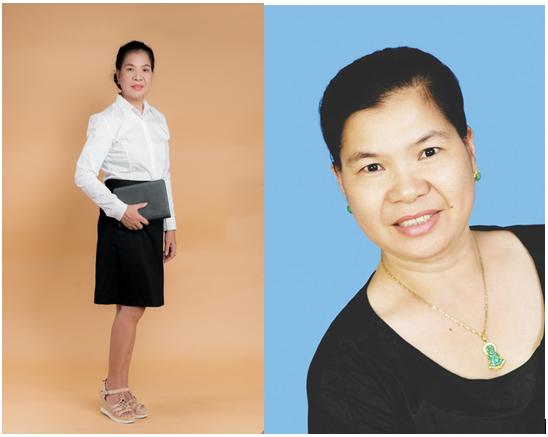 Bà Lê Thu Hằng giám đốc Haco