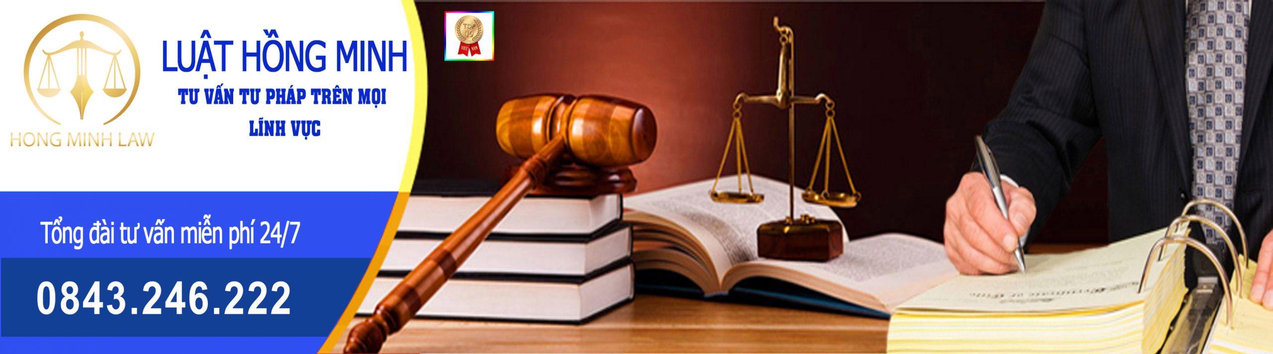 Dịch vụ tư vấn luật tại Công ty luật Hồng Minh