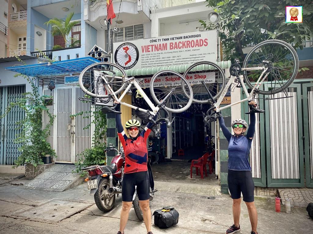 Công Ty VietNam Backroads cho thuê xe đạp tại TPHCM