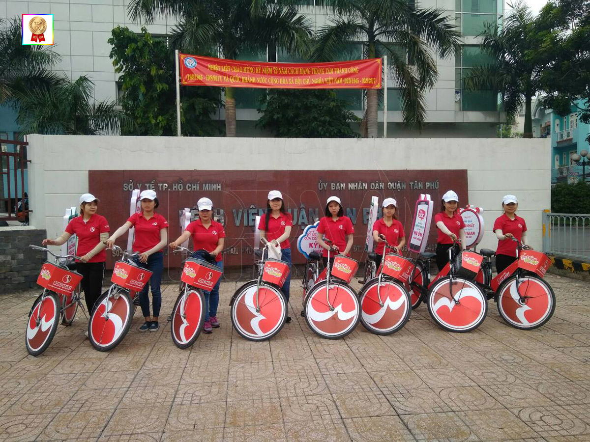 PR Việt cung cấp xe đạp tại TPHCM