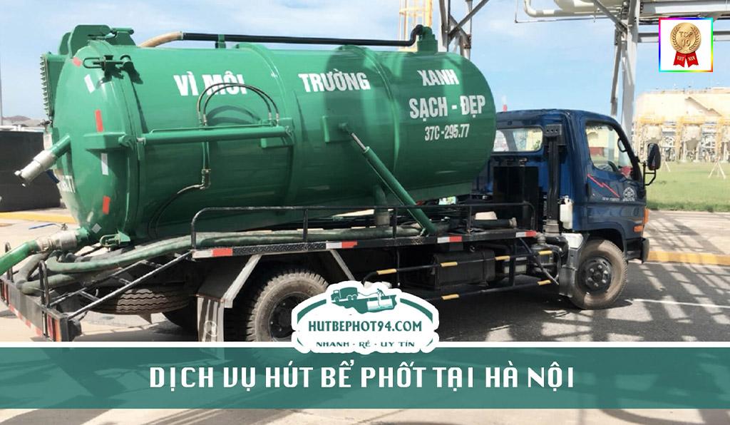 xe hút bể phốt của công ty hutbephot94