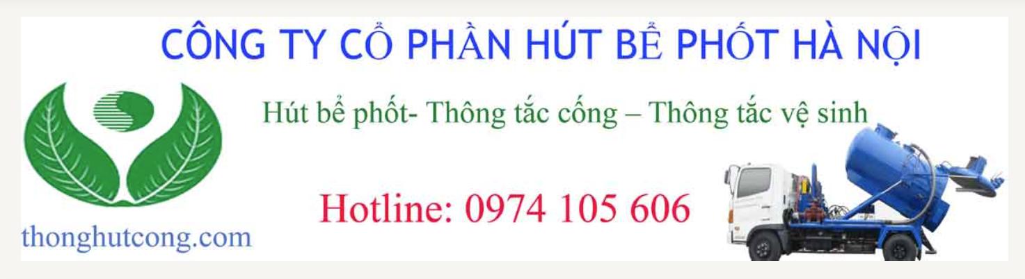 Công ty cổ phần hút bể phốt Hà Nội