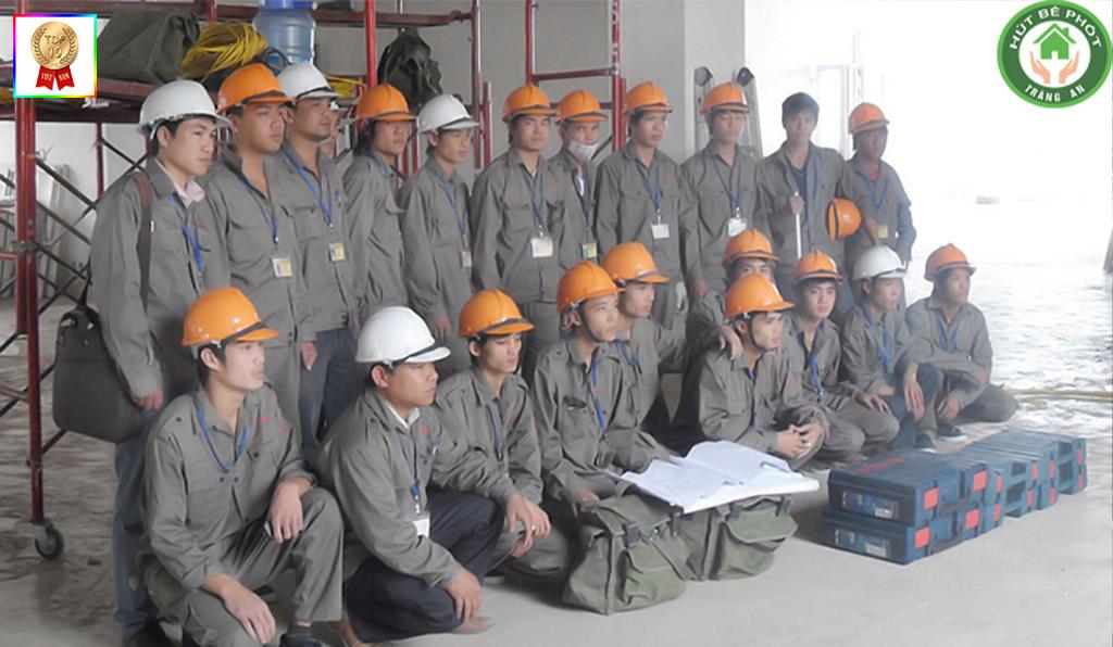 Đội ngũ nhân viên được đào tạo bài bản