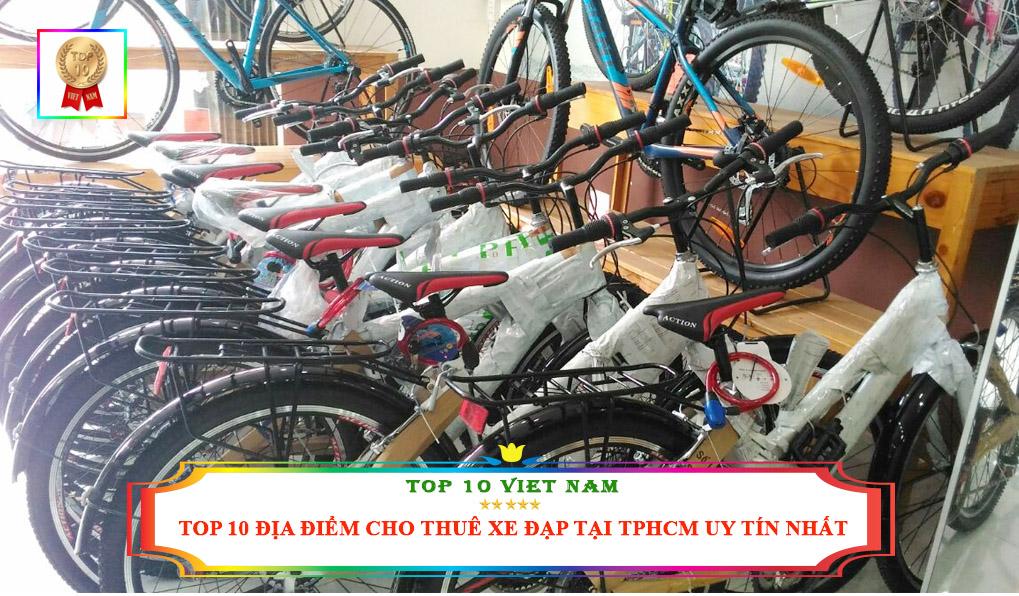 Địa điểm cho thuê xe đạp tại TPHCM uy tín nhất