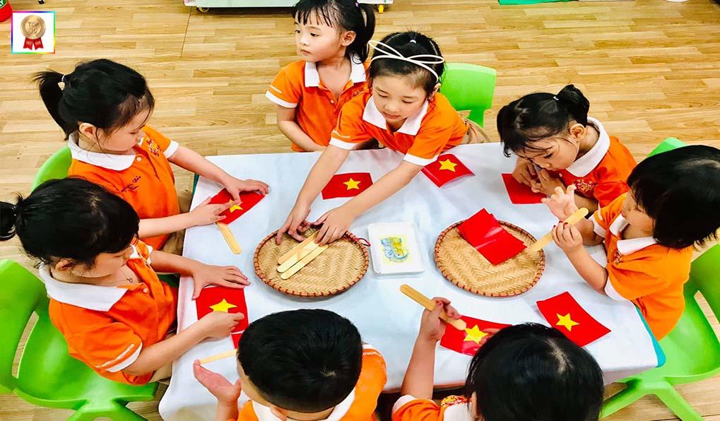 trường mầm non tốt nhất Việt Mỹ