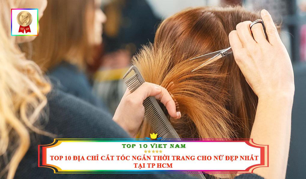 Địa chỉ cắt tóc ngắn nữ tại TP HCM