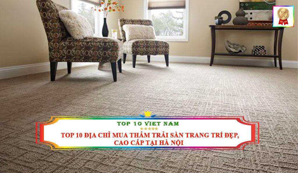 thảm trải sàn tại Hà Nội