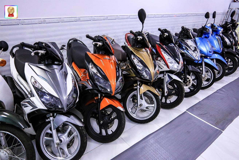 Thuê xe máy tại Đà Lạt Happy Day